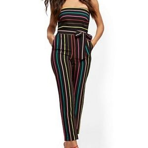 NYC Strapless Jumpsuit
